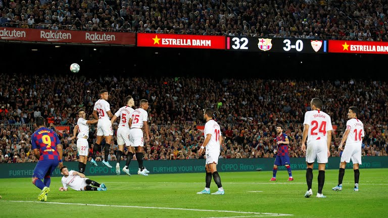 Ket qua bong da, Barcelona 4-0 Sevilla, kết quả bóng đá, kết quả bóng đá Tây Ban Nha, kết quả La Liga, Video clip bàn thắng Barcelona 4-0 sevilla, bảng xếp hạng La Liga