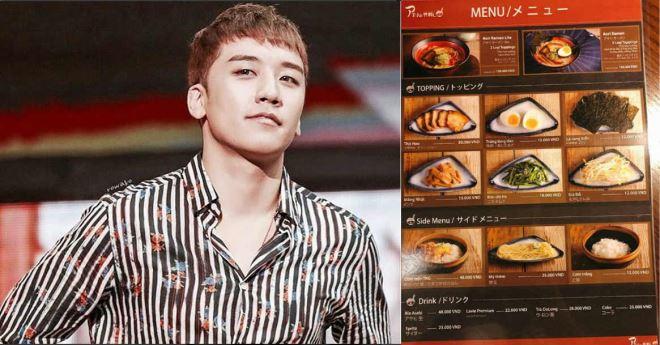 Tất tần tật về nhà hàng Aori Ramen của Seungri (BigBang) tại Hà Nội