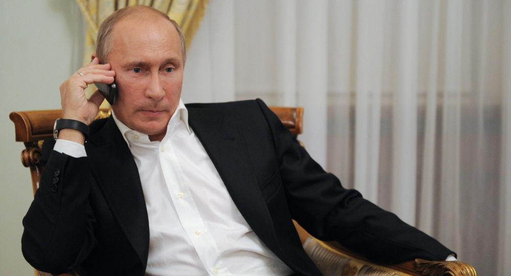Ông Donald Trump và Vladimir Putin vừa điện đàm khẩn