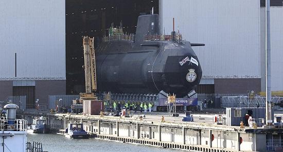 Siêu tàu ngầm tỷ đô của Anh lặn 25 năm không cần tiếp nhiên liệu