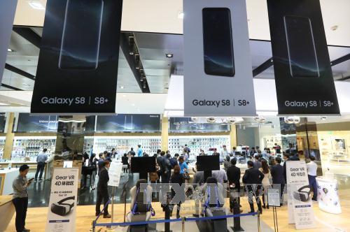 Ra mắt điện thoại thông minh Galaxy S8 tại thị trường lớn nhất châu Á