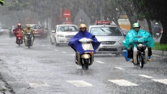 Bắc Bộ mưa to, Trung Bộ nắng nóng diện rộng