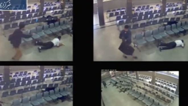 VIDEO: Giây phút kinh hoàng các tay súng xả đạn bên trong Quốc hội Iran
