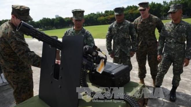 Đặc nhiệm Mỹ cùng quân đội Philippines truy quét phiến quân ở Marawi