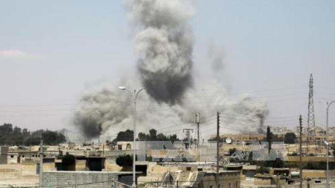 Liên quân Mỹ bắn hạ máy bay của quân đội Syria