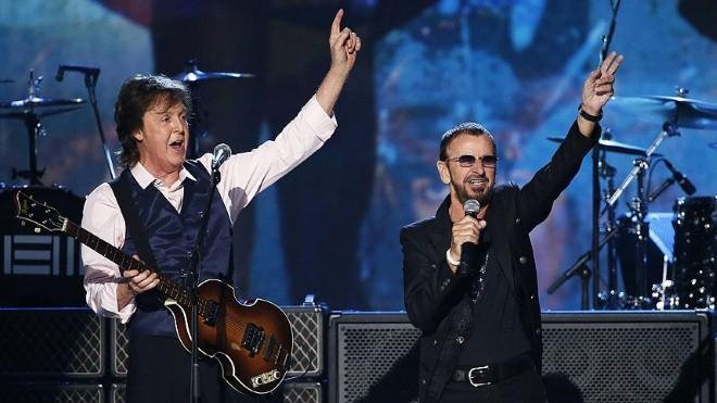 Hai thành viên The Beatles tái hợp trong album mới