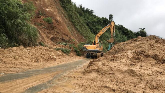 Lai Châu: Nhiều tuyến giao thông huyết mạch bị sạt lở do ảnh hưởng mưa lũ
