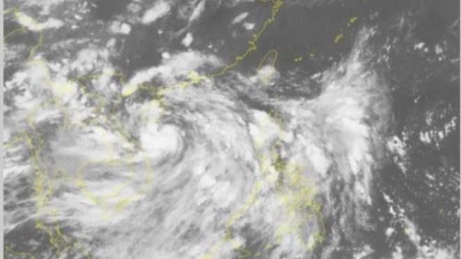 Bão số 2 đi sâu vào đất liền, suy yếu dần thành áp thấp nhiệt đới