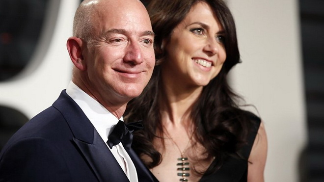 Ông chủ Amazon Jeff Bezos: Không chỉ giàu nhất thế giới, mà đích thực là 'soái ca'
