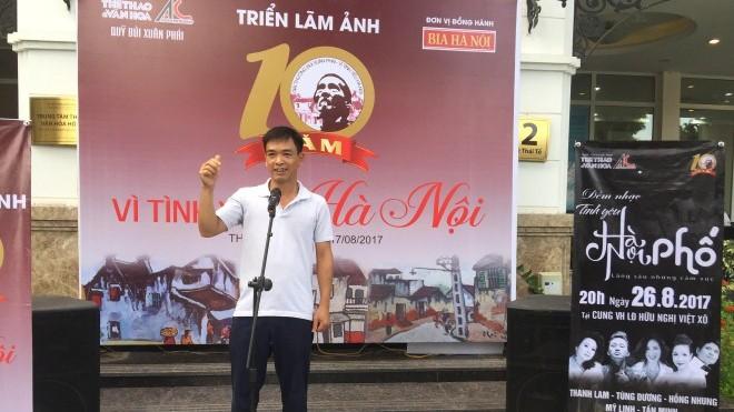 Giải thưởng Bùi Xuân Phái – Vì tình yêu Hà Nội lần thứ 10 – 2017: 'Trưng bày Phố Phái' bằng âm nhạc
