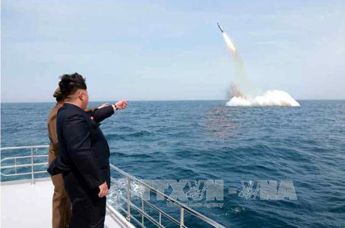 Triều Tiên có thể đang phát triển tên lửa đạn đạo phóng từ tàu ngầm