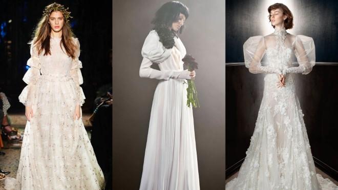 Đừng vội sắm đầm cưới nếu bạn chưa cập nhật những xu hướng thời trang này
