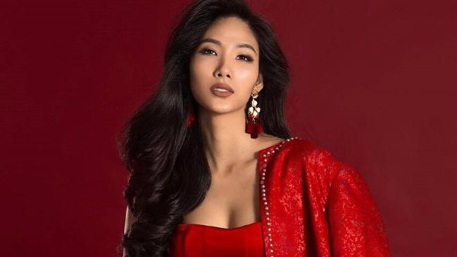 Hoàng Thùy không giấu tham vọng trở thành Hoa hậu Hoàn vũ Việt Nam