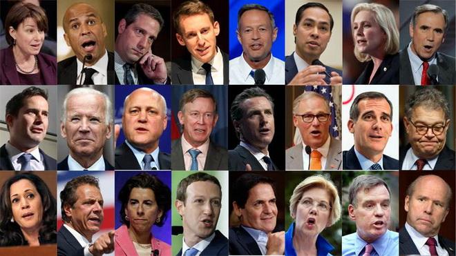 'The Rock' Johnson và hàng loạt tên tuổi bắt đầu lao vào cuộc tranh cử Tổng thống Mỹ