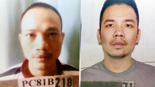 Truy nã đặc biệt hai tử tù bỏ trốn khỏi nơi giam giữ