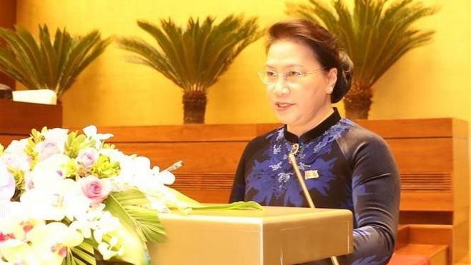 Toàn văn phát biểu khai mạc Kỳ họp thứ 4 Quốc hội khóa XIV của Chủ tịch Quốc hội Nguyễn Thị Kim Ngân
