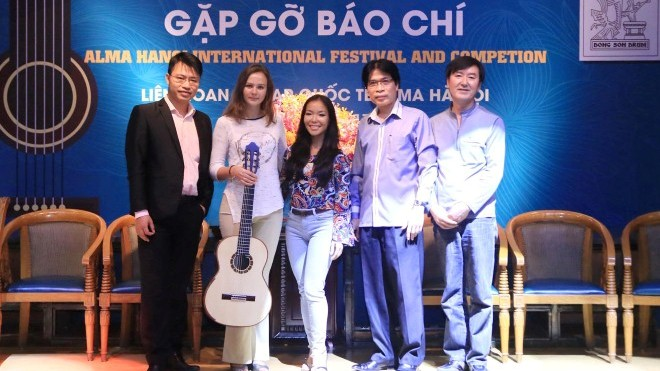 Liên hoan Guitar Quốc tế Alma Hà Nội: Đánh thức 'chàng lãng tử' guitar cổ điển Hà thành