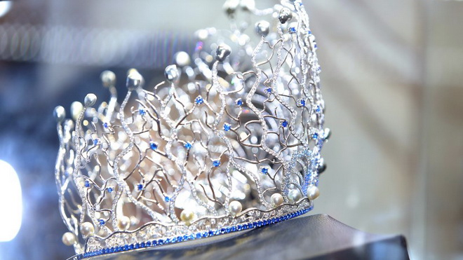 Cận cảnh vương miện Hoa hậu Đại Dương 2017 đắt giá nhất Việt Nam