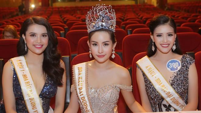 Lê Âu Ngân Anh - Tân Hoa hậu Đại dương 2017 là ai?