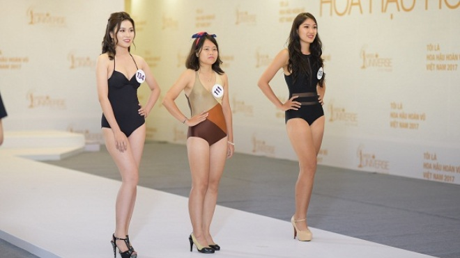 Tôi là hoa hậu hoàn vũ Việt Nam 2017: Chuyện chiều cao của hoa hậu