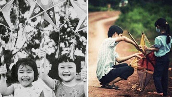 Những hình ảnh tuyệt đẹp về Tết Trung thu xưa chỉ còn trong ký ức