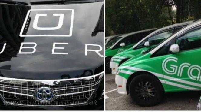 Taxi Vinasun phản đối Uber, Grab: Nghĩ về cạnh tranh bằng... băng rôn và đánh hội đồng