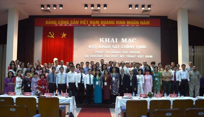 ĐH Mỹ thuật Việt Nam được đánh giá kiểm định chất lượng giáo dục