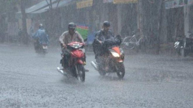 Xuất hiện vùng áp thấp, cả nước có mưa, Nam Trung Bộ tiếp tục mưa to diện rộng