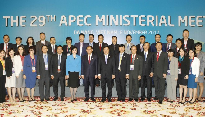 Khai mạc Hội nghị lần thứ 29 liên Bộ trưởng Ngoại giao-Kinh tế APEC