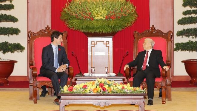 Báo chí Canada đưa tin đậm nét về chuyến thăm của Thủ tướng Trudeau tới Việt Nam