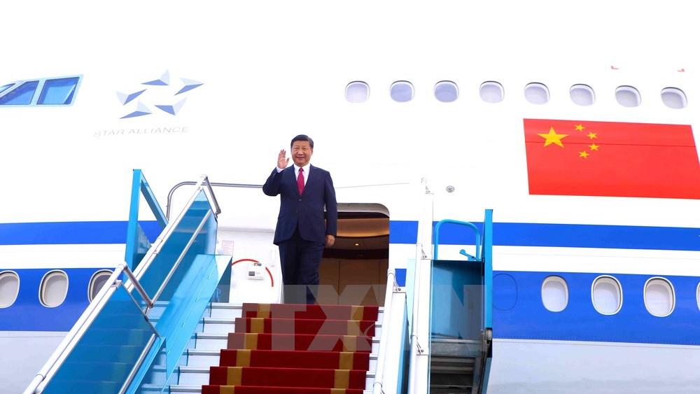 Những khoảnh khắc Chủ tịch Trung Quốc Tập Cận Bình đến Đà Nẵng dự APEC 2017