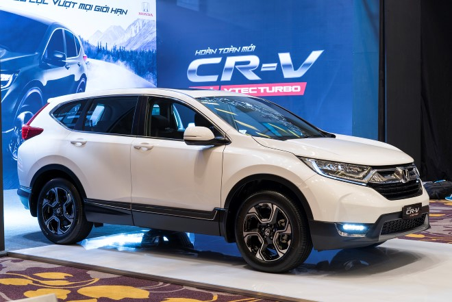 Honda CR-V thế hệ mới ra mắt thị trường Việt với nhiều thay đổi