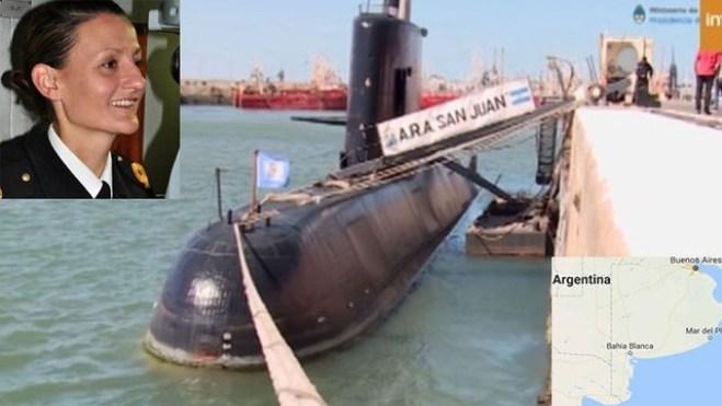 Tàu ngầm Argentina với 44 thành viên mất tích tại Đại Tây Dương