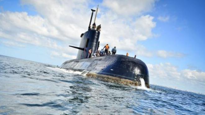 Hải quân Argentina vẫn chưa thấy tăm hơi tàu ngầm ARA San Juan bị mất tích