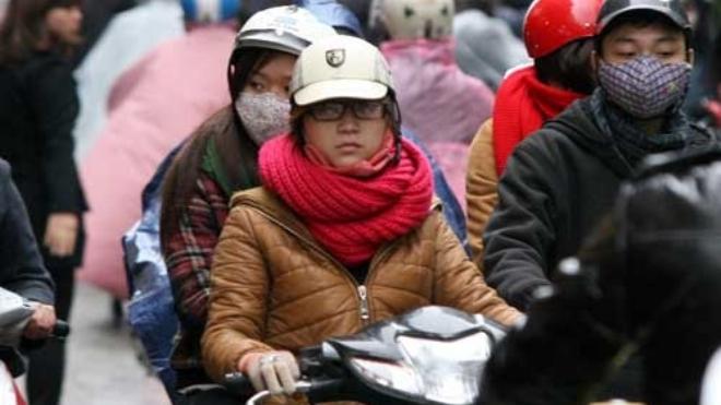 Không khí lạnh, miền Bắc rét đậm, vùng núi rét hại, mưa to từ Nghệ An đến Phú Yên