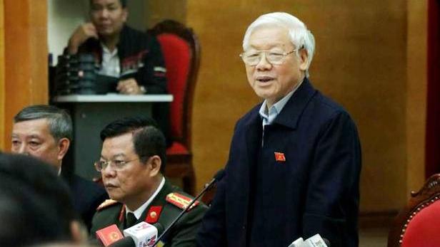 Cử tri Hà Nội gửi nhiều kiến nghị chống tham nhũng với Tổng Bí thư Nguyễn Phú Trọng