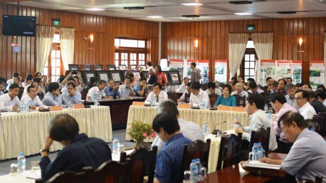 Tìm giải pháp Kiến trúc cho tuyến dân cư tôn nền vượt lũ và nông thôn mới Đồng bằng sông Cửu Long'