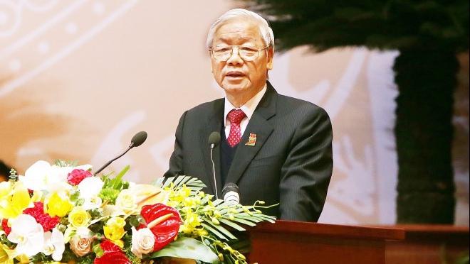 Tổng Bí thư Nguyễn Phú Trọng dự và phát biểu chỉ đạo Đại hội Đoàn toàn quốc lần thứ XI