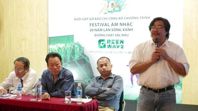 Festival Âm nhạc 20 năm 'Làn sóng xanh' 2017