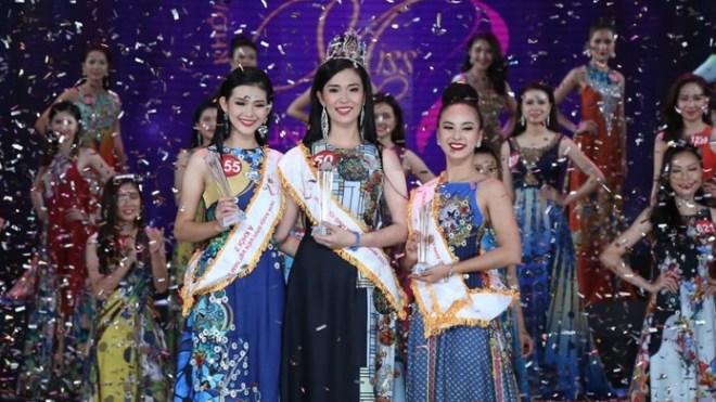 Nữ sinh Đại học Tây Đô giành danh hiệu Hoa khôi Sinh viên Việt Nam năm 2017