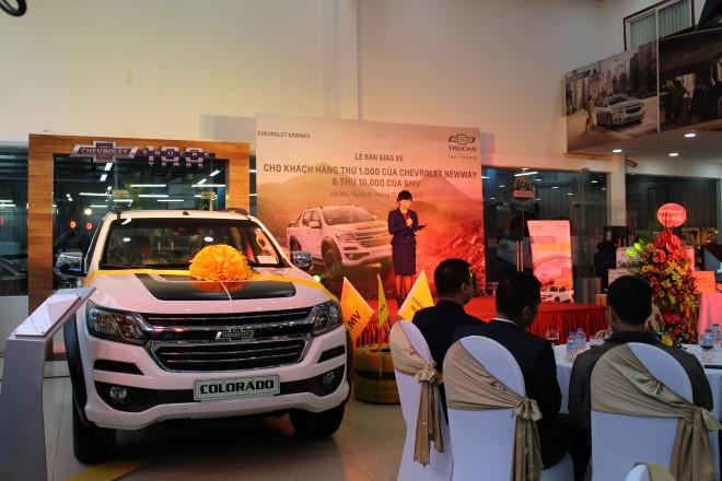 Chevrolet cán mốc 10.000 xe tại Việt Nam