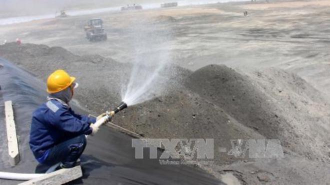 Không để xảy ra sự cố môi trường tại điện lực Vĩnh Tân làm ảnh hưởng đến nhân dân