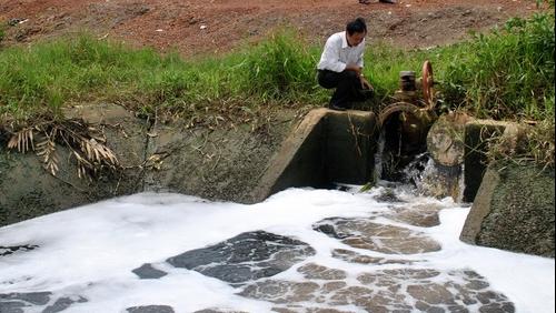 Công ty Phương Đông liên tiếp xả thải gây ô nhiễm môi trường