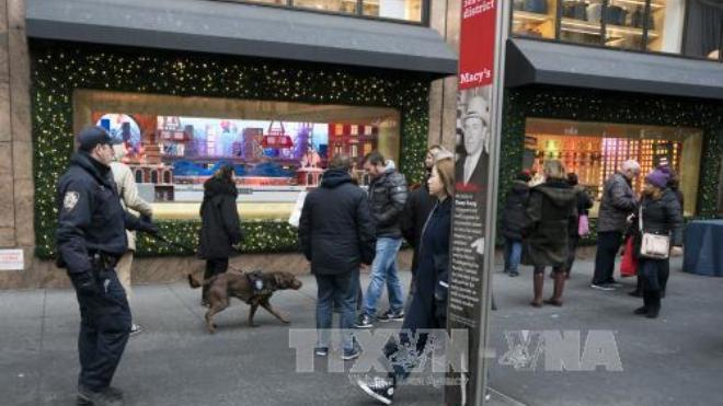 Đón năm mới 2018, New York siết chặt an ninh tại Quảng trường Thời đại