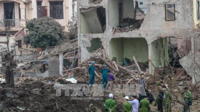 Khởi tố vụ án, tạm giam chủ kho phế liệu gây ra vụ nổ đầu đạn tại huyện Yên Phong, Bắc Ninh