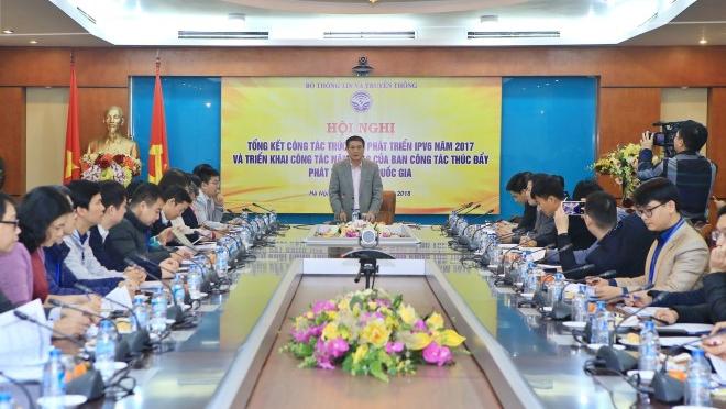 Năm 2017 tỷ lệ ứng dụng địa chỉ internet thế hệ mới của Việt Nam tăng trưởng 200%