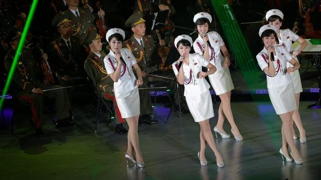 Ban nhạc Moranbong của Triều Tiên: Sẽ tham gia Thế vận hội mùa Đông tại Hàn Quốc?