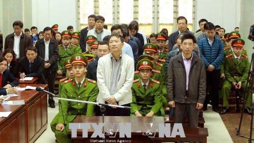 Đinh La Thăng bị tuyên 13 năm tù, Trịnh Xuân Thanh nhận án chung thân