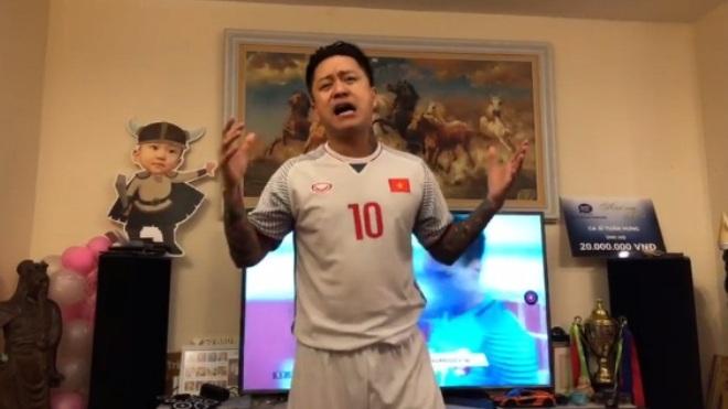 Ca sĩ Tuấn Hưng: Sau chiến thắng của U23 Việt Nam mới dám lên tiếng