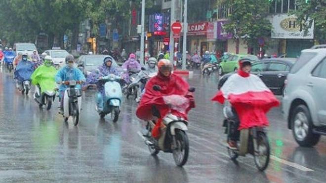 Miền Bắc đón không khí lạnh, Hà Nội mưa rào chuyển rét